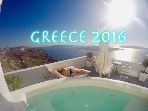 GoPro GREECE SUMMER TRIP | Travel