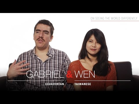 GLOBAL RELATIONSHIPS: Seeing the world differently