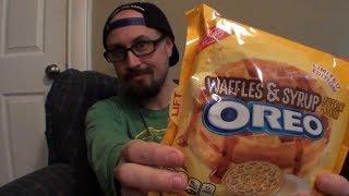 Brad Tries Waffles & Syrup Oreos