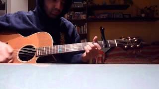 norwegian wood acoustic guitar cover ( the beatles )