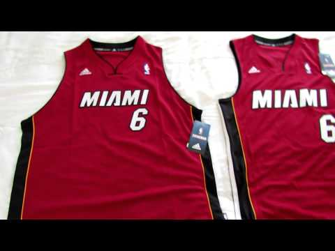 NBA Swingman Jersey Sizing - Men S vs. Youth XL