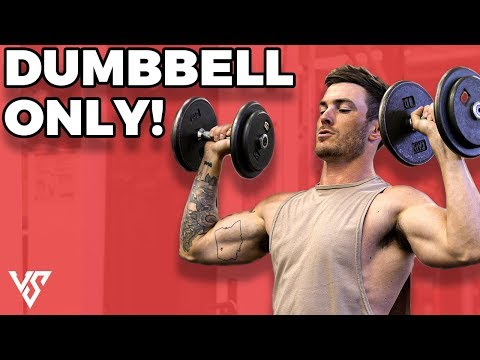 Full Upper Body Workout Routine Using Dumbbells Only