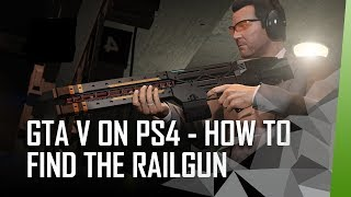 Grand Theft Auto V PS4/Xbox/PC How to get the rail gun in story mode
