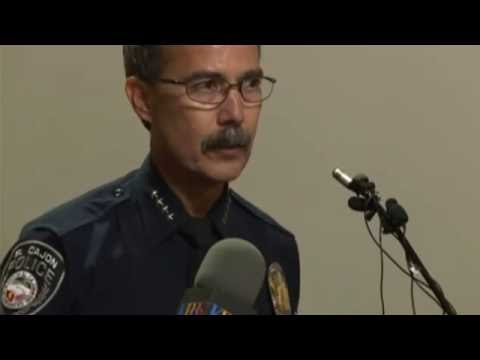 El Cajon Officer Involved Shooting Presser [LIVE]
