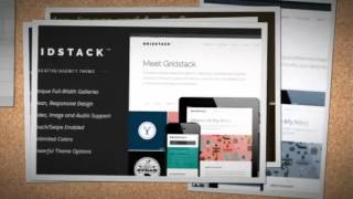 GridStack Wordpress Theme Review & Demo | Responsive Agency WordPress Theme | GridStack Price & How to Install