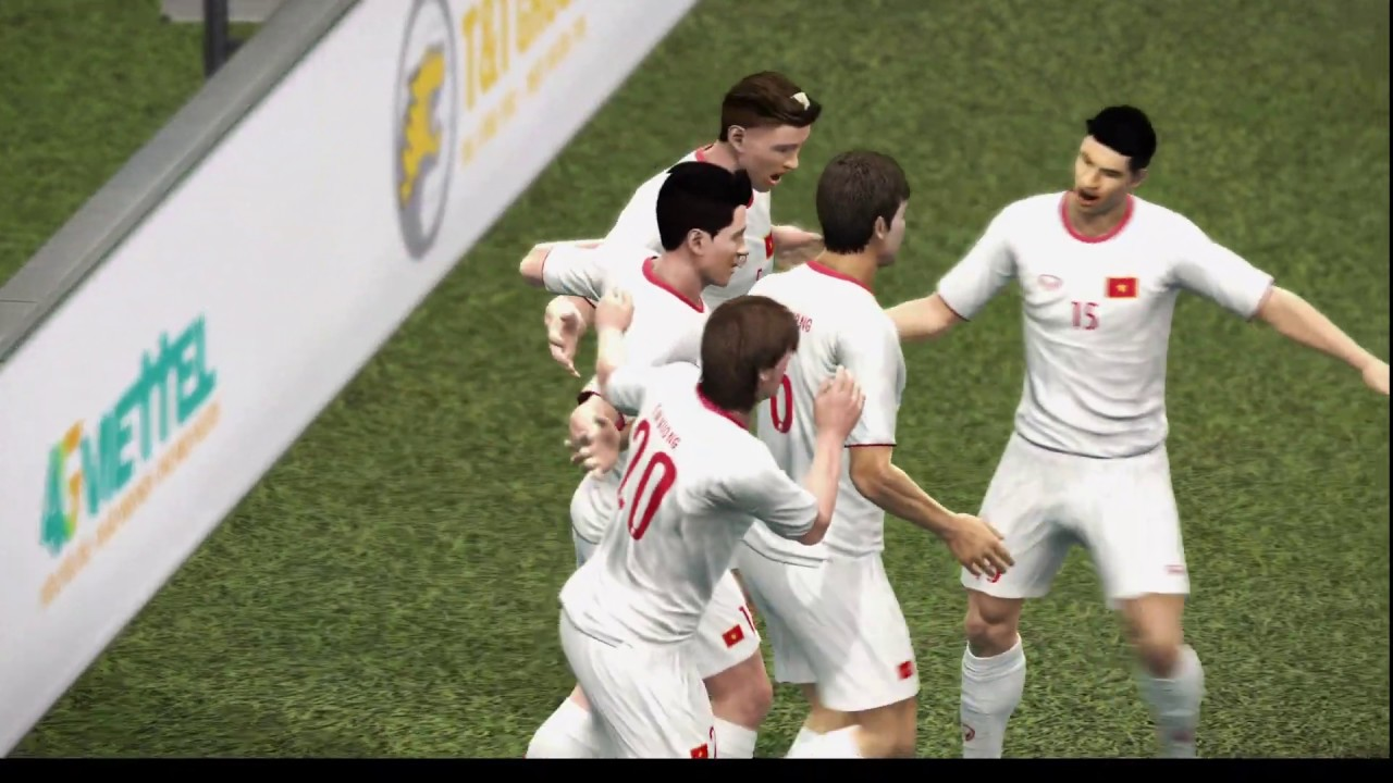 Olympic Vietnam 4-0 Olympic China (Pro Evolution Soccer)