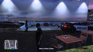 "GTA 5 Heist ""Prison Break"" Part #2 - Police Station"