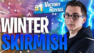 IL CLUTCH AU WINTER ROYALE AVEC PEU D'HP, 1ER WORLD ! ( FORTNITE BATTLE ROYALE )