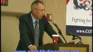 Constitution Party Speaker - Marshall DeRosa Part Two