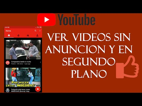 Ver Videos de Youtube Sin Anuncios en Android