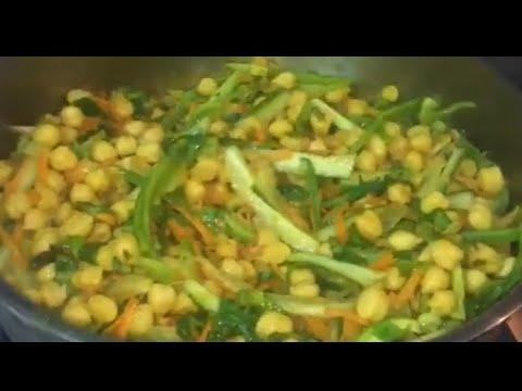 طريقة البليله الحمص باالخضار The Method Of Phala Chickpeas With Vegetables Youtube