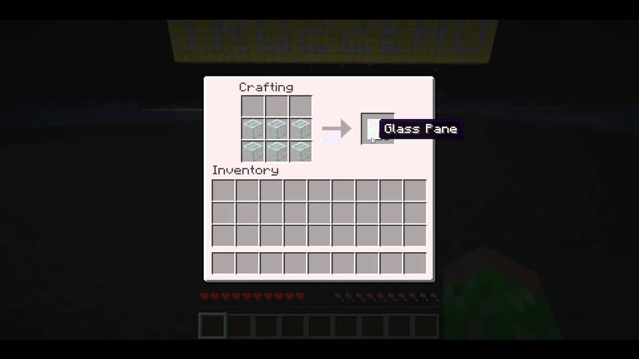 how to craft glass panes minecraft glass pane crafting hd 6768