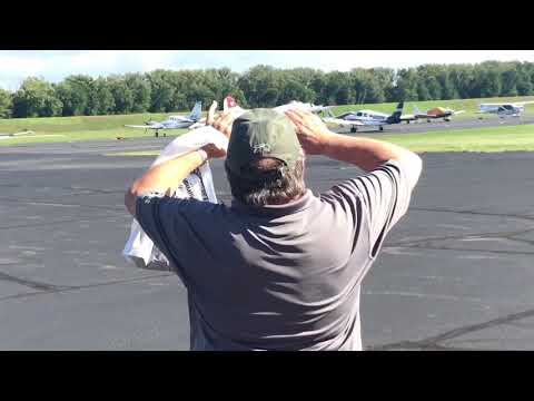 "Vega B-17 ""Aluminum Overcast"" Brainard Airport. 9/16/17"