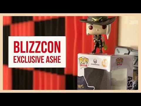 Ashe Funko Blizzcon 2018 Premiere Exclusive !!!