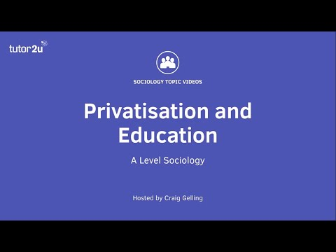 Privatisation And Education