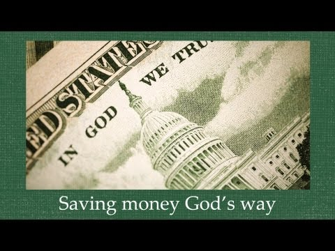 Saving Money God's Way