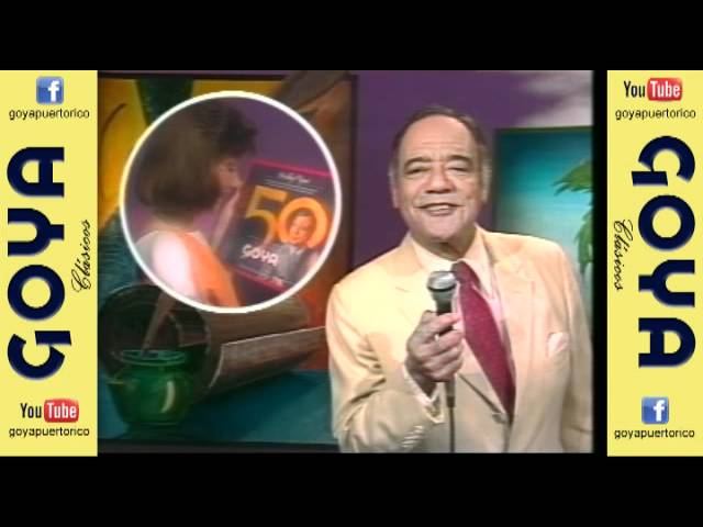 Bobby Capo canta al 50 Aniversario de Goya (80's)