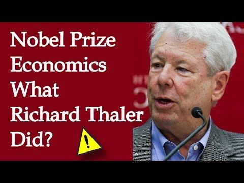What Richard Thaler Actually Did? NOBEL PRIZE ECONOMICS