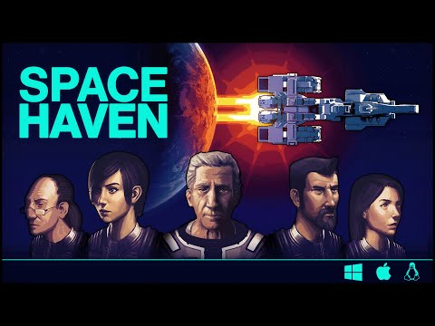 Space Haven Kickstarter trailer - Available on Bugbyte store now!