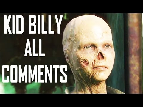 Fallout 4 - Save Or Abandon Billy - All Companions Comments (Kid In The Fridge - Selling Billy)