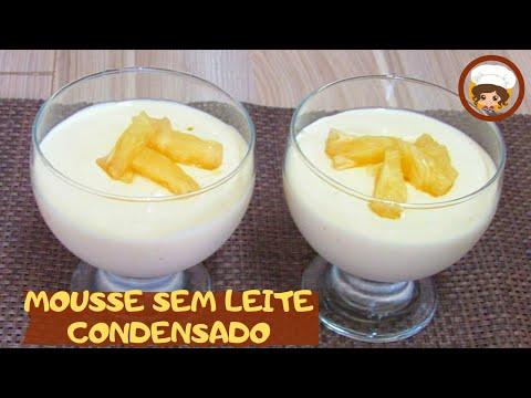 MOUSSE SEM LEITE CONDENSADO - Sobremesa super fácil - MIL DELÍCIAS NA  COZINHA