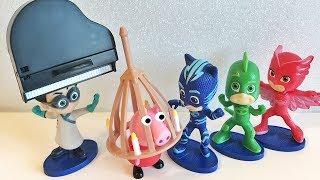 I Pj Masks Super Pigiamini e Peppa Pig nella casa delle trappole di Tom e Jerry [Storia]