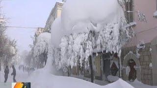 Снега и Морозы - Арктический Циклон прошелся по Европе до Турции.
