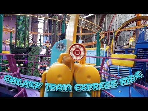 Galaxyland Train Express Ride | West Edmonton mall  | AISHA AND BILAL