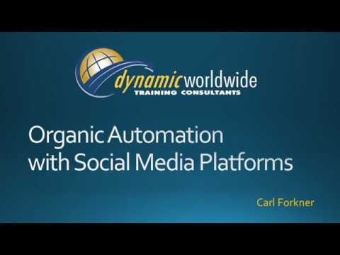 Organic Automation with Social Media Platforms