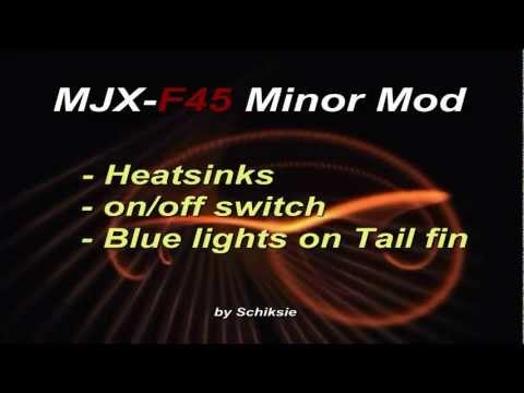MJX F45 little mods