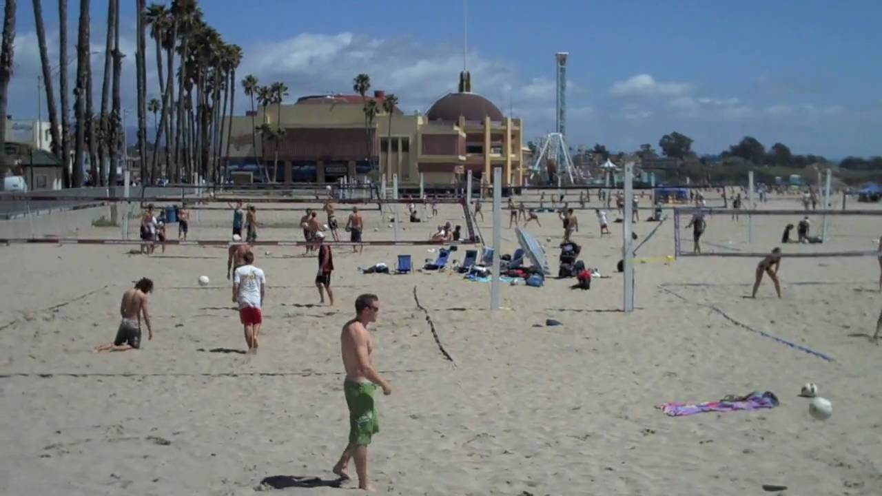 Santa Cruz Beach Boardwalk Volleyball