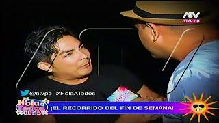 HOLA A TODOS 04/04/16 EL RECORRIDO DE HAT: ERICK ELERA MOLESTO CON 'METICHE', YAHAIRA...