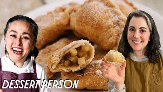 Claire and Gaby Make Apple Empanadas | Dessert Person