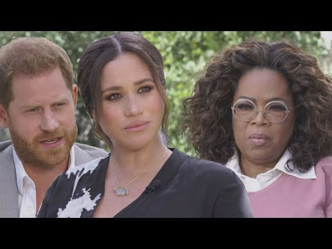 Prince Harry and Meghan Markles Interview With Oprah: Watch the First Footage
