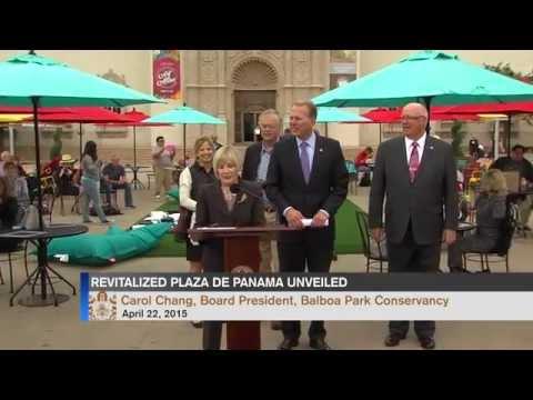 Revitalized Plaza de Panama Unveiled