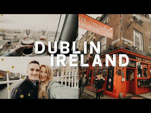 IRELAND VLOG   traveling to Dublin for the first time
