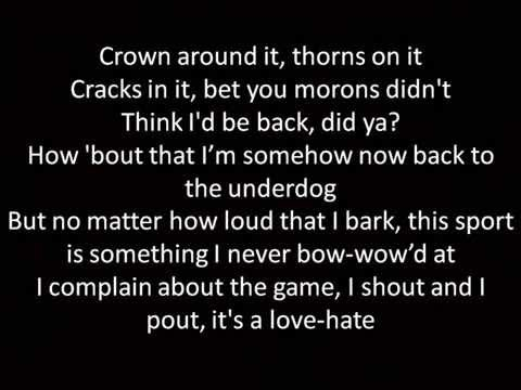 Kings Never Die Lyrics Eminem ft Gwen Stefani