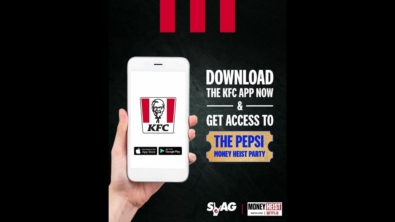 KFC - Pepsi Money Heist Buckets