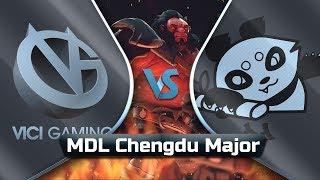 [PT-BR] Vici Gaming vs Fighting Pandas - Dota 2 Major
