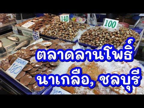 """LAN-PHO Fish Marketตลาดลานโพธิ์ อาหารทะเล สด ถูก.. พัทยา"""