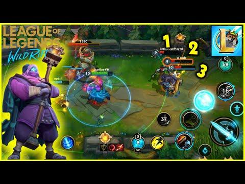 (LOL Mobile) Chơi thử Jax Tốc Chiến - dễ chơi dễ gánh team | StarBoyVN