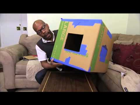 How to make a projector for wall murals youtube for Create a wall mural