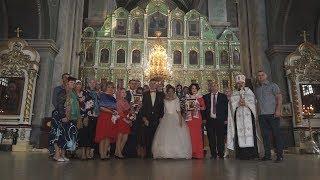 Венчание. Очень трогательно и смиренно.