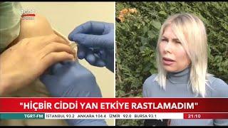 Rektör Prof. Dr. Özlenen Özkan Hiçbir Ciddi Yan Etkiye Rastlamadım