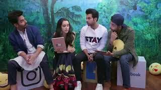 Stree Star-cast live interview  Shraddha Kapoor  Rajkumar Rao