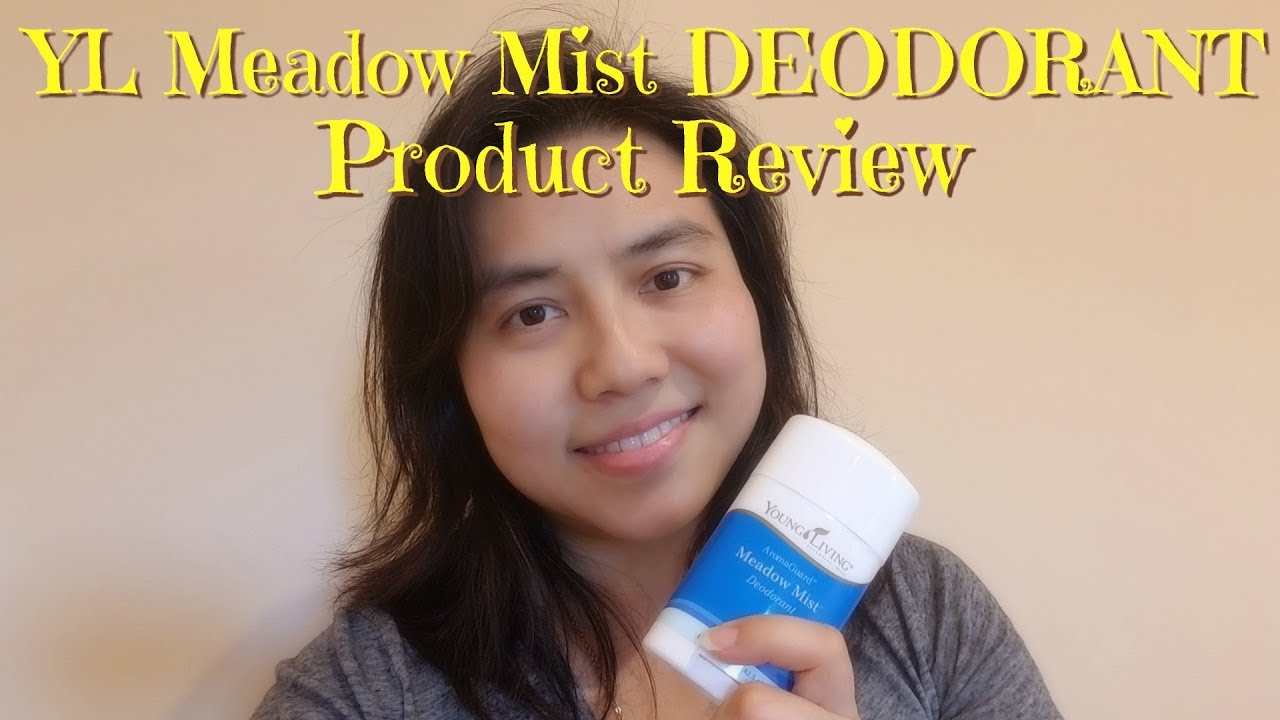 Product Review Young Living Meadow Mist Deodorant Youtube
