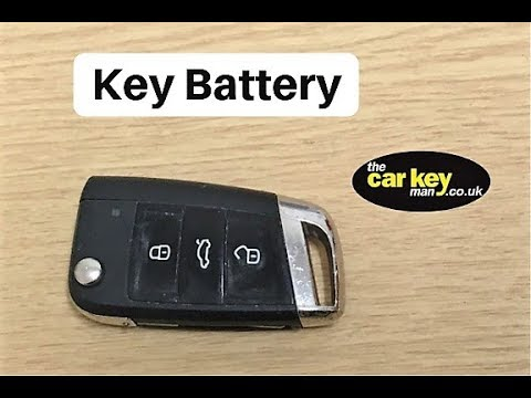 key battery vw seat skoda how to change youtube. Black Bedroom Furniture Sets. Home Design Ideas