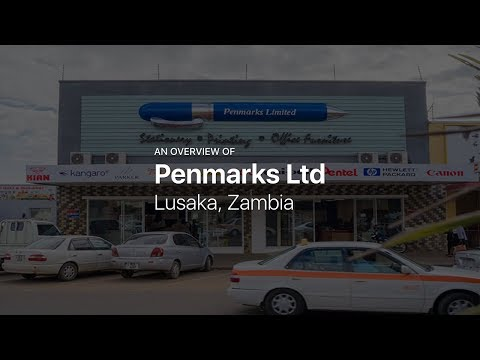 Penmarks Ltd — Office and scholastic stationery in Lusaka, Zambia