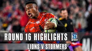 ROUND 16 HIGHLIGHTS: Lions v Stormers – 2019
