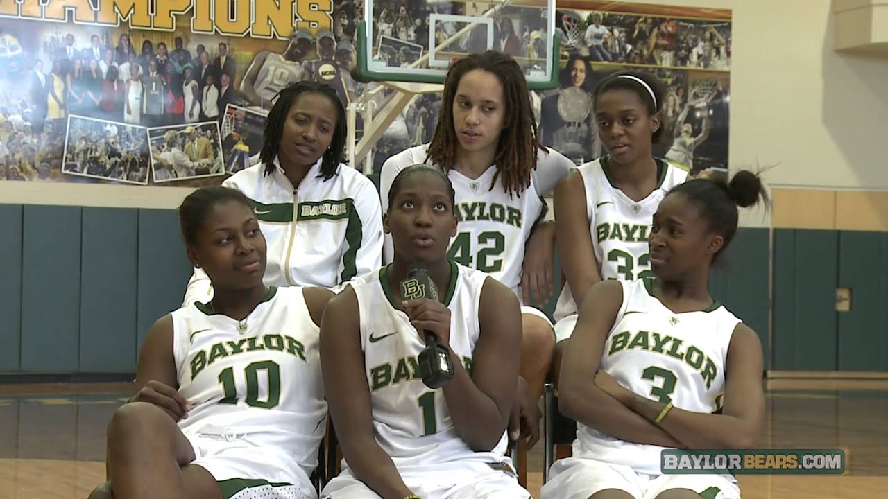 2dcdc9bc87fb Baylor Basketball (W)  Sit Down with the Seniors - YouTube
